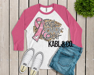 Breast Cancer - Faith over Fear