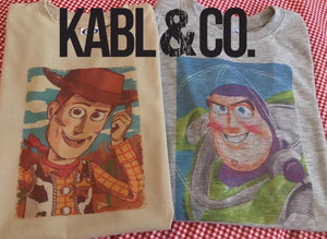 BUZZ or WOODY TEE - DW