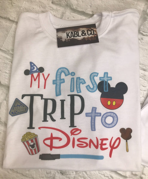 My First Trip to Disney - DW