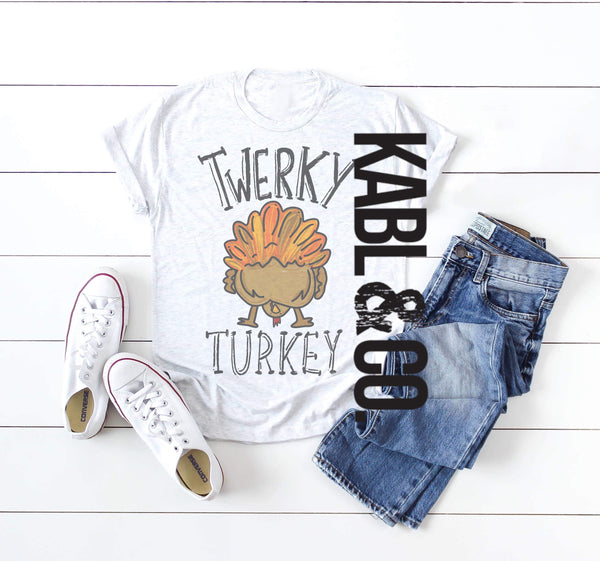 Twerky Turkey - Thanksgiving