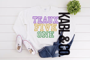 Teaux Five One - Mardi Gras