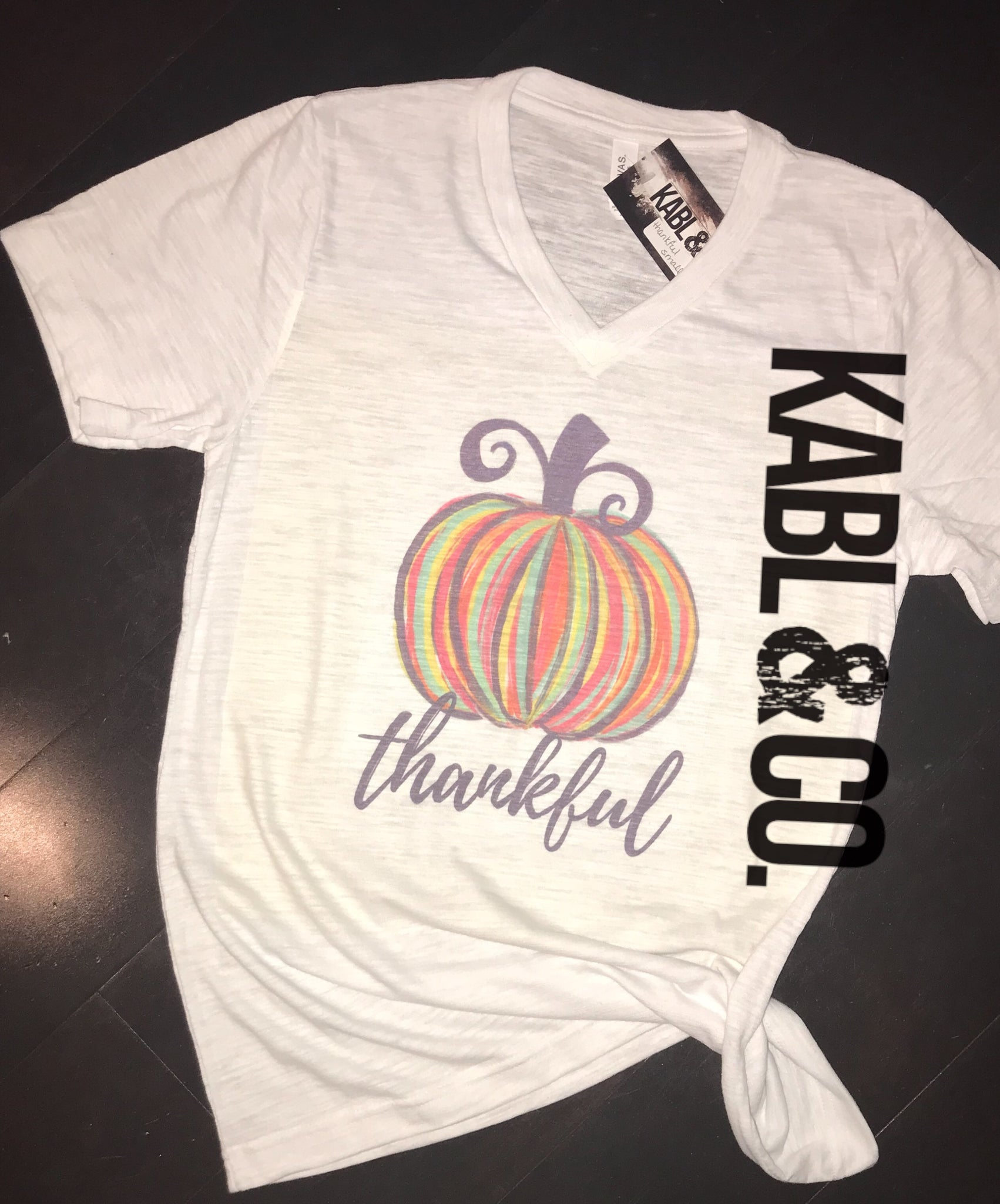 THANKFUL PUMPKIN - Fall