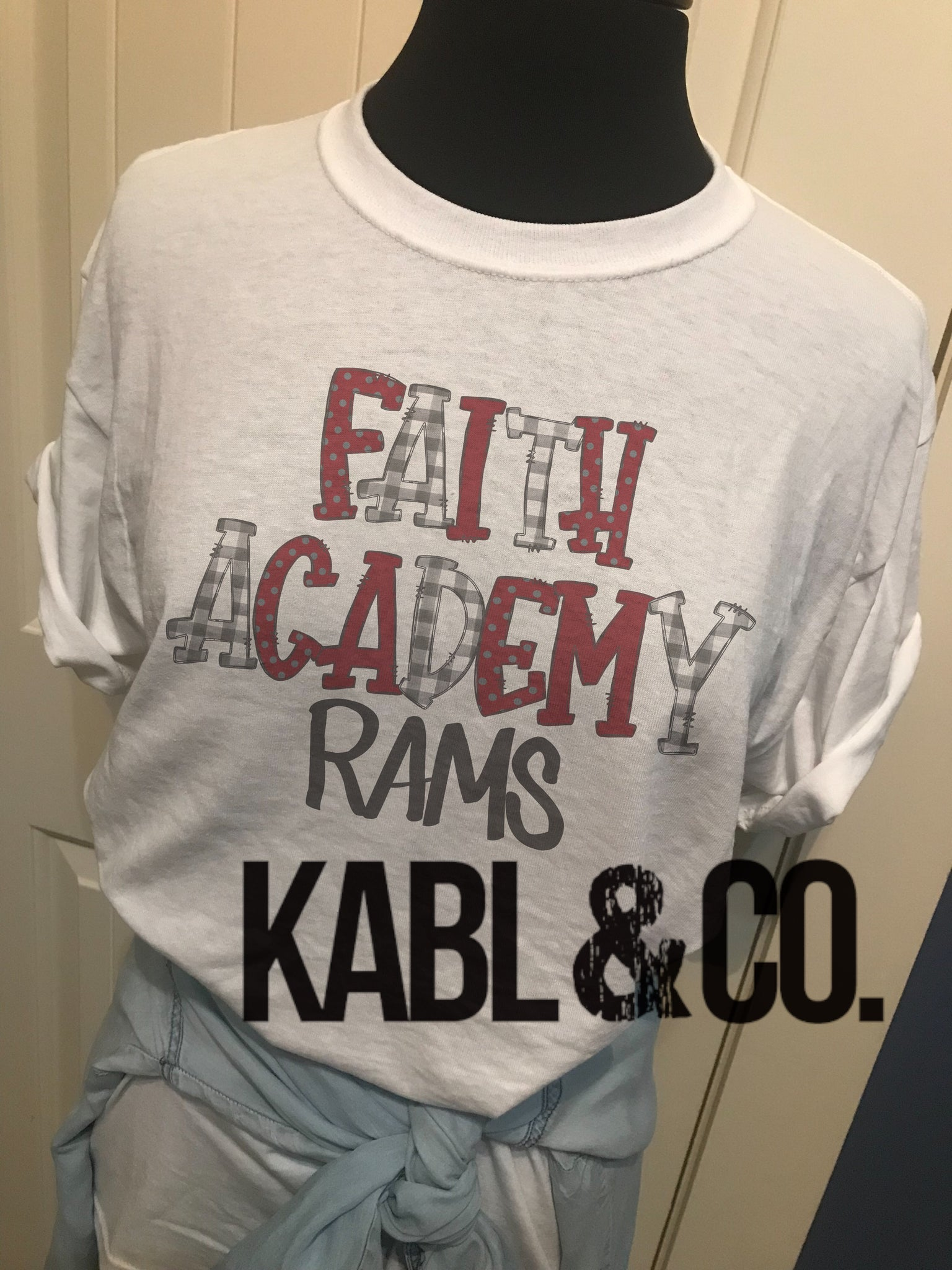 Faith Academy Rams (white crew)