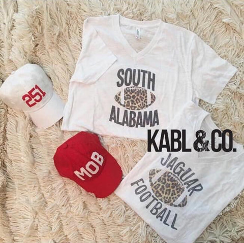 SOUTH ALABAMA FOOTBALL - Vneck