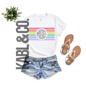 STRIPED MONOGRAM (Crew)