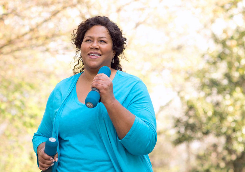 Mature African American woman smiling | Is ALA The New Silver Bullet Of Weight Loss? | benefits of alpha lipoic acid weight loss