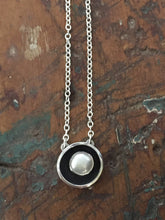 Load image into Gallery viewer, Sterling and Pearl Necklace