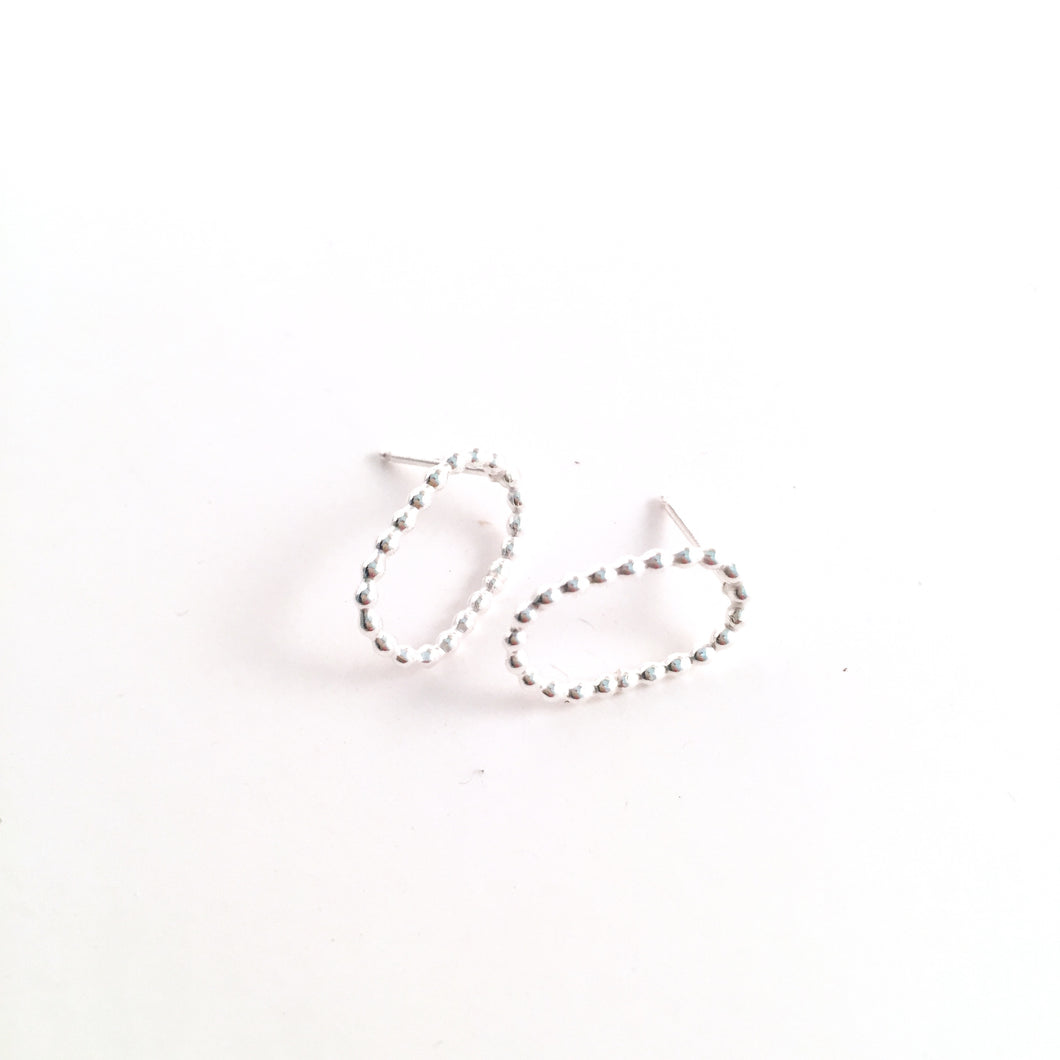Simple Sterling Silver Earring