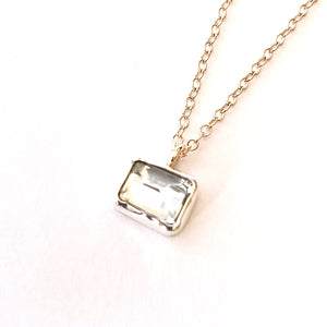 Green Amethyst Mini Necklace