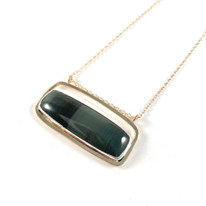 Velvet Obsidian Necklace