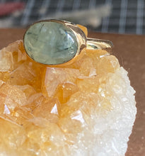 Load image into Gallery viewer, Green Tourmalated Quartz