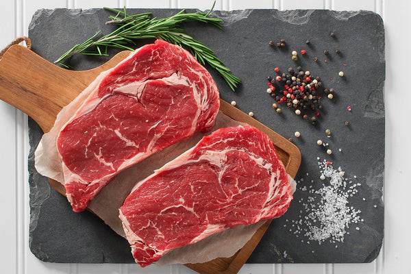 Texas Certified Grass Fed Beef Boneless Ribeye Steak | 410 Farms Green Acres Grassfed Beef