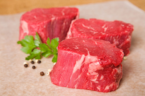 Grass Fed Beef Filet | Certified Texas Grassfed Grass Finished Beef | 410 Farms Green Acres Grassfed Beef