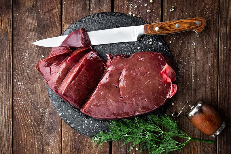 Texas Certified Grass Fed Beef Liver | 410 Farms Green Acres Grassfed Beef
