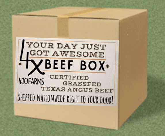 THE 4X BEEF BOX