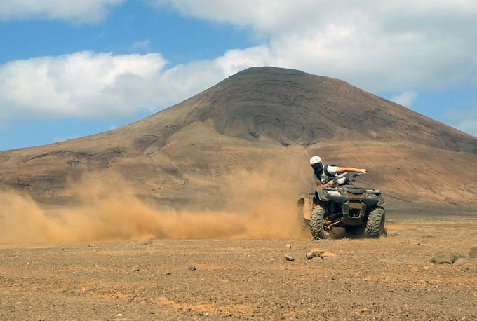 Self-supported Quad Tour around Sal Island in Cape Verde