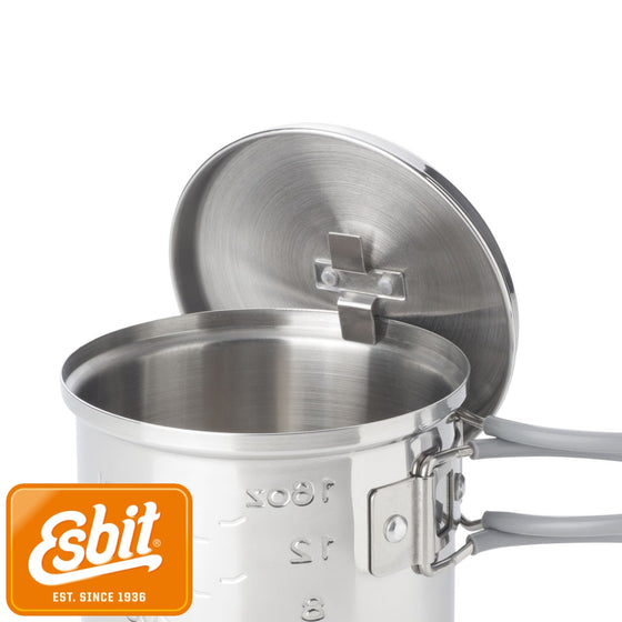 Esbit CookStainless Steel 585 ml | Stoves - fullnorth.com