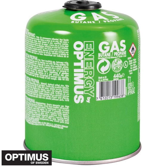 Optimus Gas canister Universal Gas 440G | Stoves - fullnorth.com