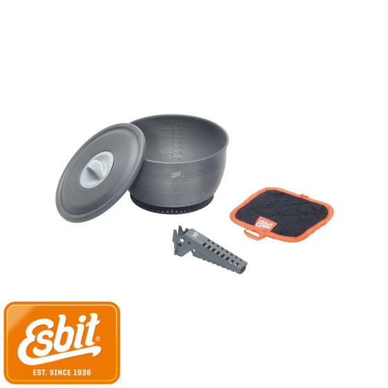 Esbit Pot With Heat Exchanger 2.35 L | Tableware - fullnorth.com