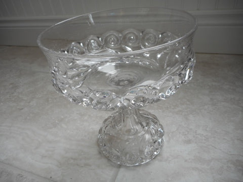 Compote Pattern Glass