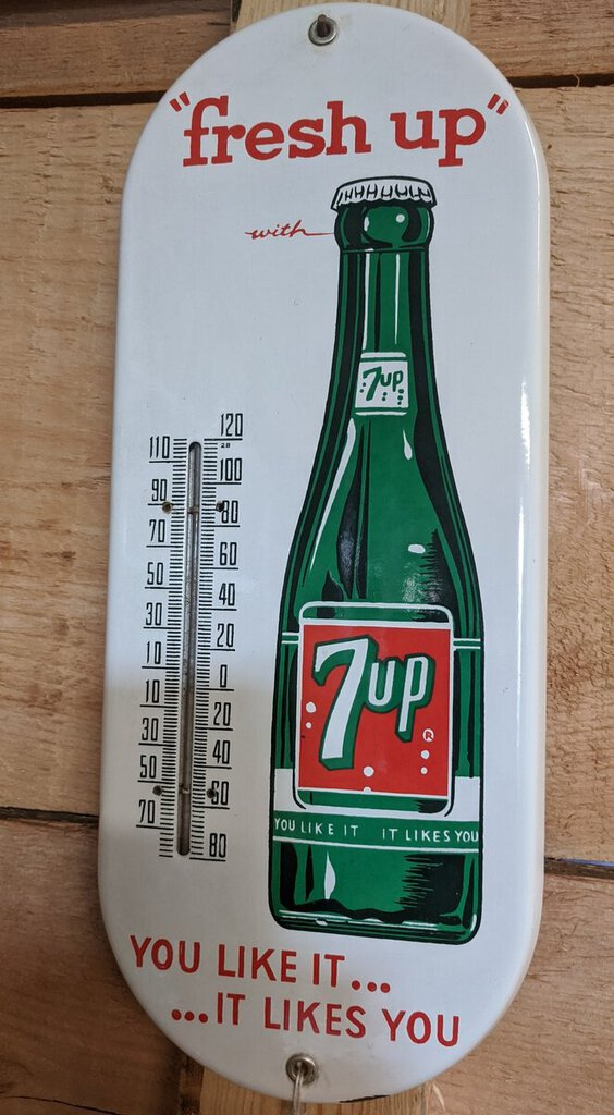 7 UP Thermometer
