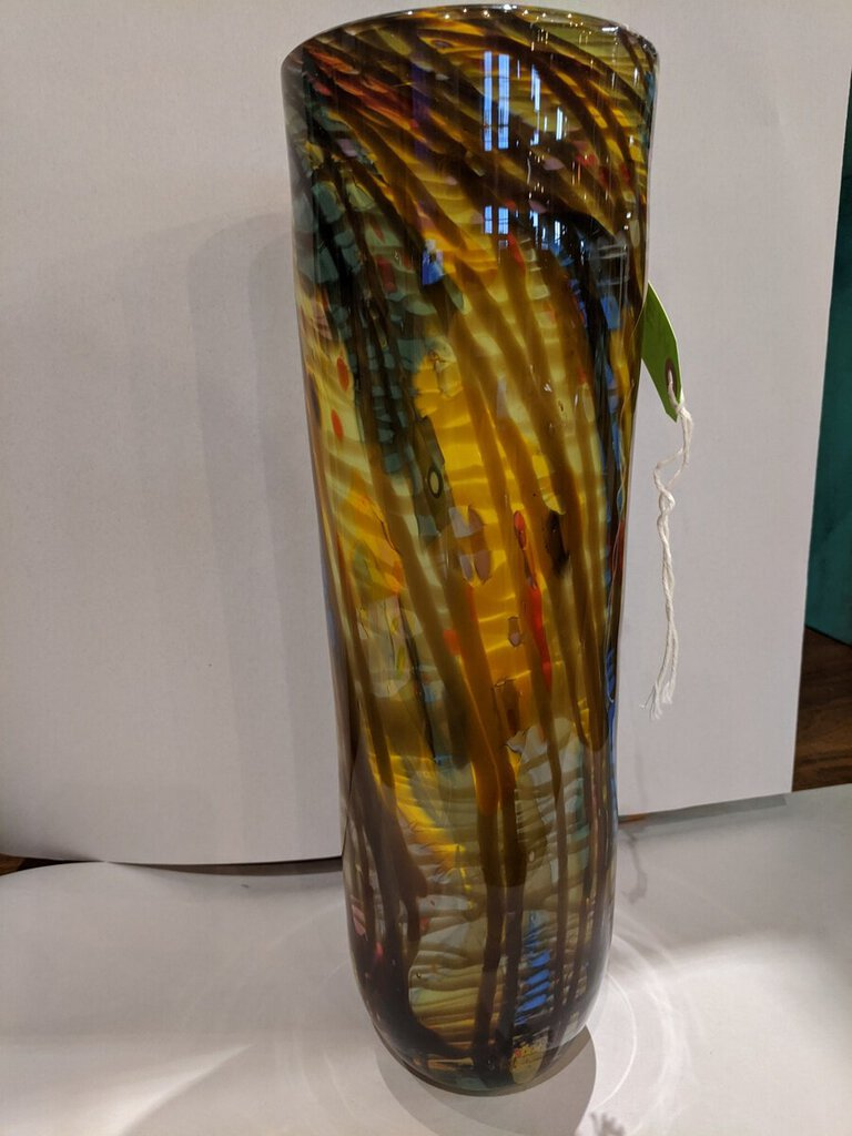 Studio Art Glass Vase