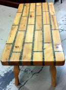 Judd Gunstock Custom coffee table