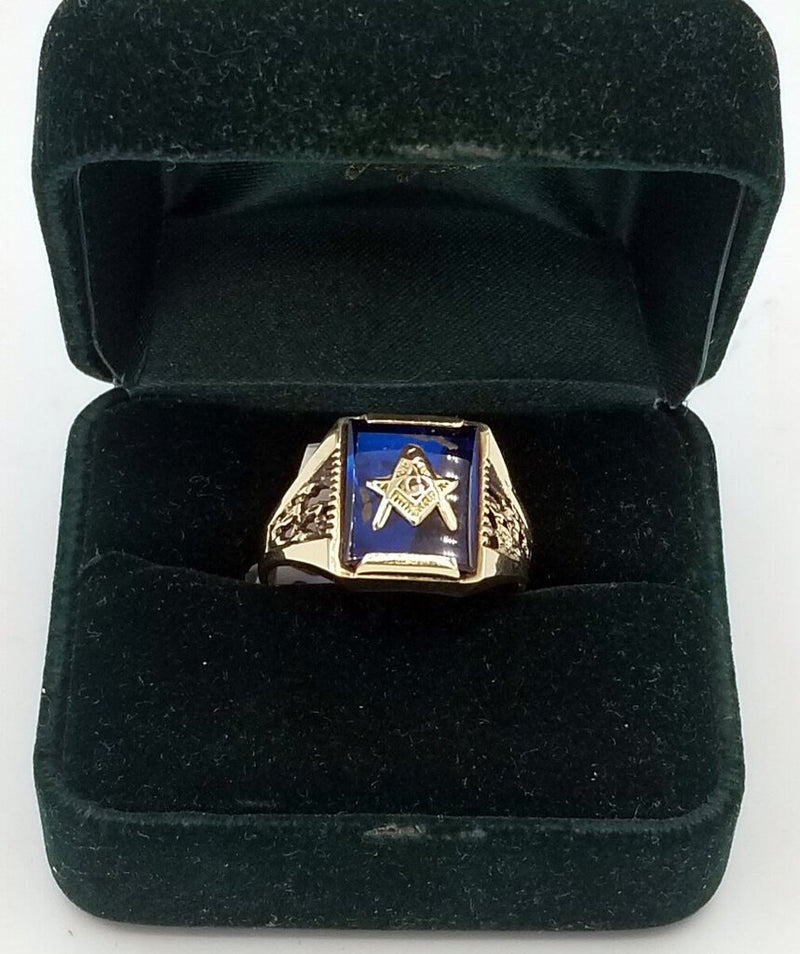 Masonic Gold Ring (MIC) (W482)