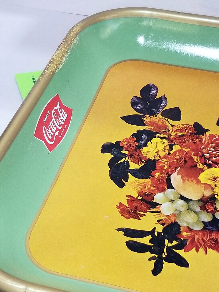 1957 Coca Cola Coke Tray. (YVO)(W621)
