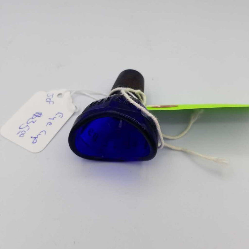 Cobalt Blue Eye cup bottle stopper (JEF)