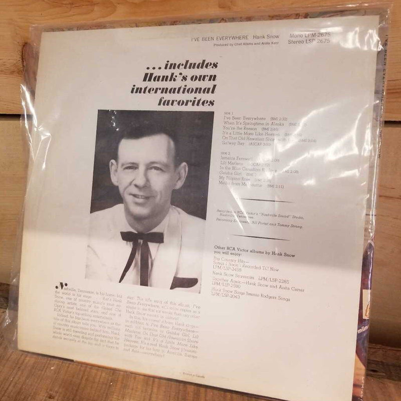 Hank Snow Record. (GBZ)