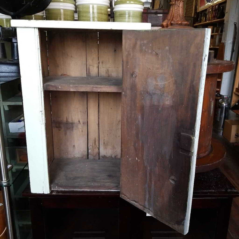 Rustic Painted Wall Cabinet (JP)