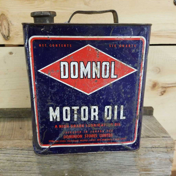 """Domnol"" Motor Oil Can (JEF)"