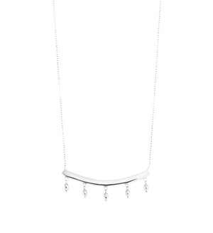 KIRSTIN ASH - Bar Droplet Necklace Large online at PAYA boutique