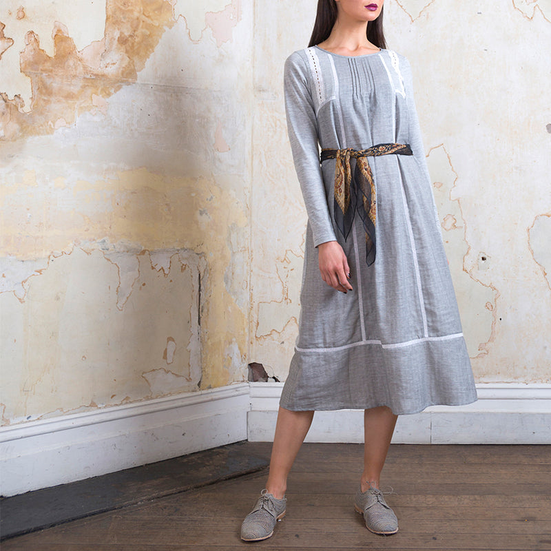 CATHERINE MURPHY - The Gemma Tee Dress - Grey Marle online at PAYA boutique