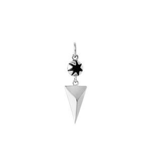 KIRSTIN ASH - Faceted Triangle Drop Charm online at PAYA boutique