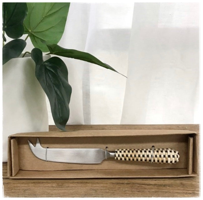 PAYA boutique - Wicker Cheese Knife - Gift Boxed online at PAYA boutique