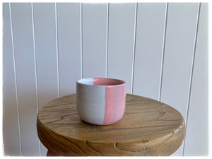 PAYA boutique - Handmade Moroccan Coffee Cup - Rose/White online at PAYA boutique