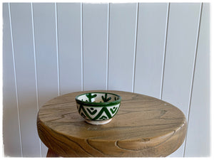 PAYA BOUTIQUE - Mini Moroccan Bowl - Green online at PAYA boutique
