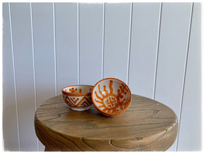 PAYA BOUTIQUE - Mini Moroccan Bowl - Burnt Orange online at PAYA boutique