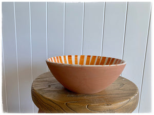 PAYA boutique - Moroccan Ceramic Bowl - Burnt Orange online at PAYA boutique