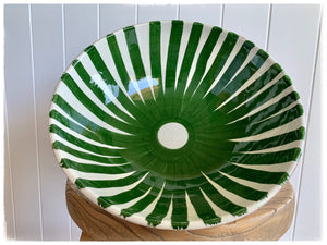 PAYA boutique - Moroccan Ceramic Salad Bowl - Green online at PAYA boutique