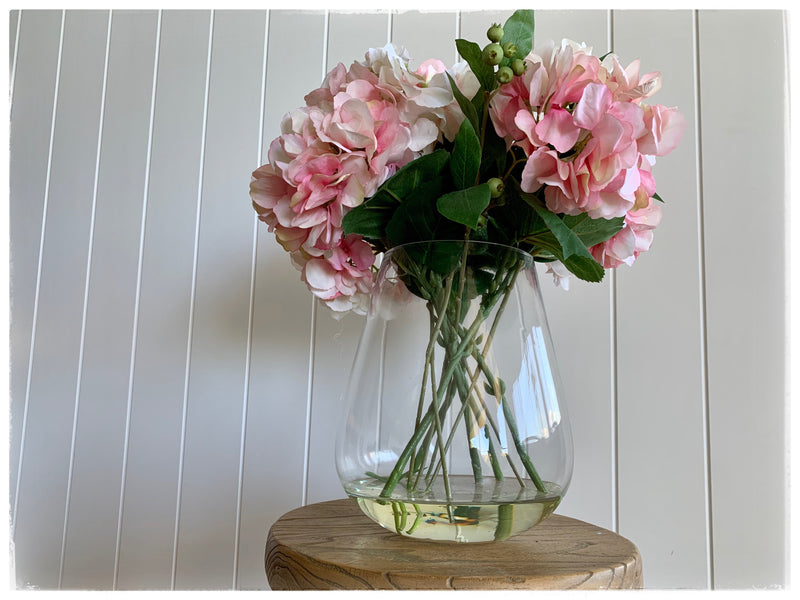 PAYA boutique - Hydrangea Artificial Floral Arrangement - tall vase online at PAYA boutique