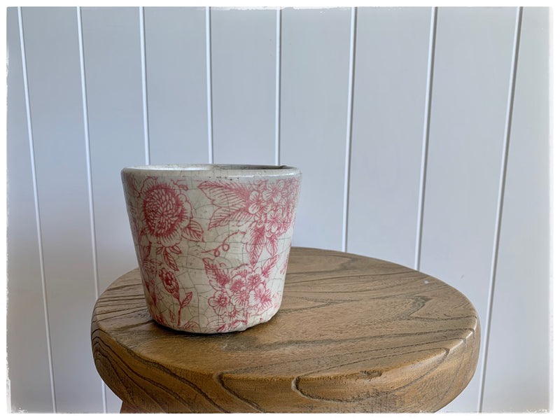 PAYA boutique - Vintage Rose Planter - small online at PAYA boutique