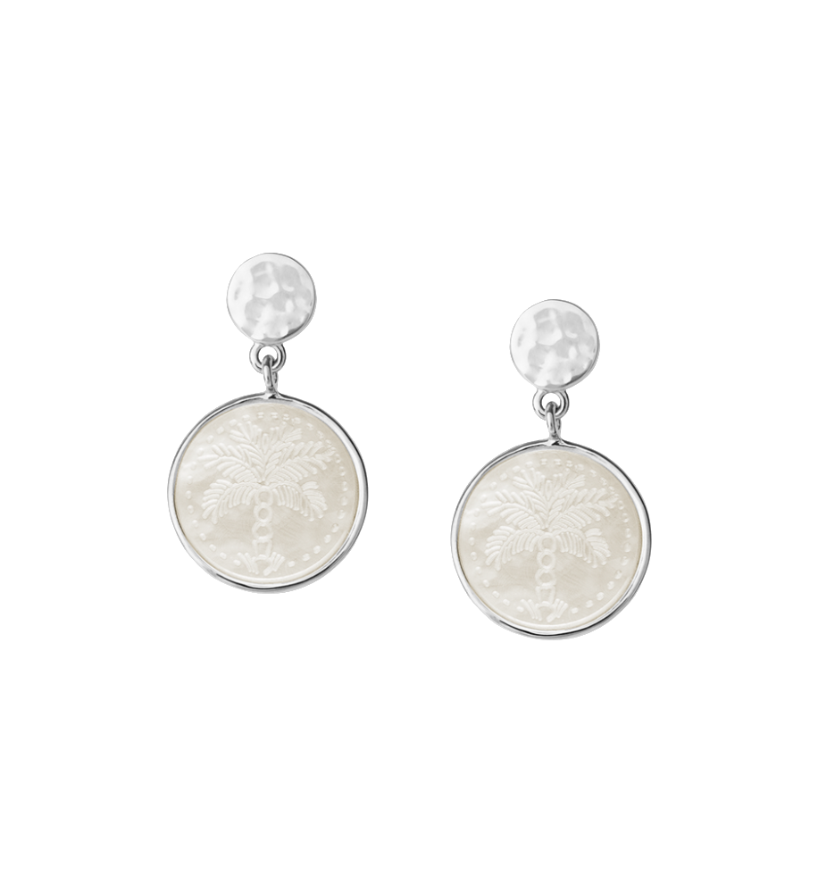 Buy Island Palm Earrings from KIRSTIN ASH at paya boutique