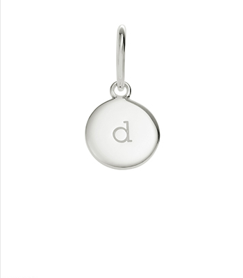 Little Kirstin Ash Circle Letter - d - available online at PAYA boutique