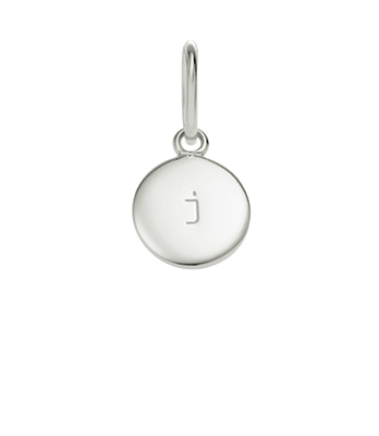 Little Kirstin Ash Circle Letter - j - available online at PAYA boutique