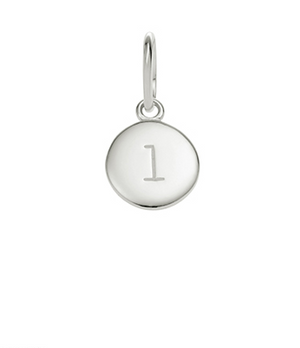 Little Kirstin Ash Circle Letter - L - available online at PAYA boutique