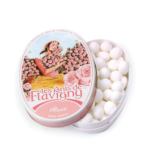 Anis de Flavigny Rose Pastilles available online at PAYA boutique