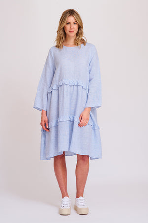 Buy Stripe Toffee Dress from ALESSANDRA at PAYA boutique